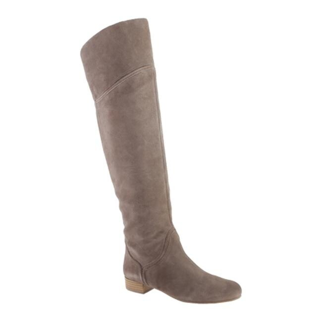b689415b3bd Shop Enzo Angiolini Women s Malaci Taupe Suede - Free Shipping Today -  Overstock - 9921350