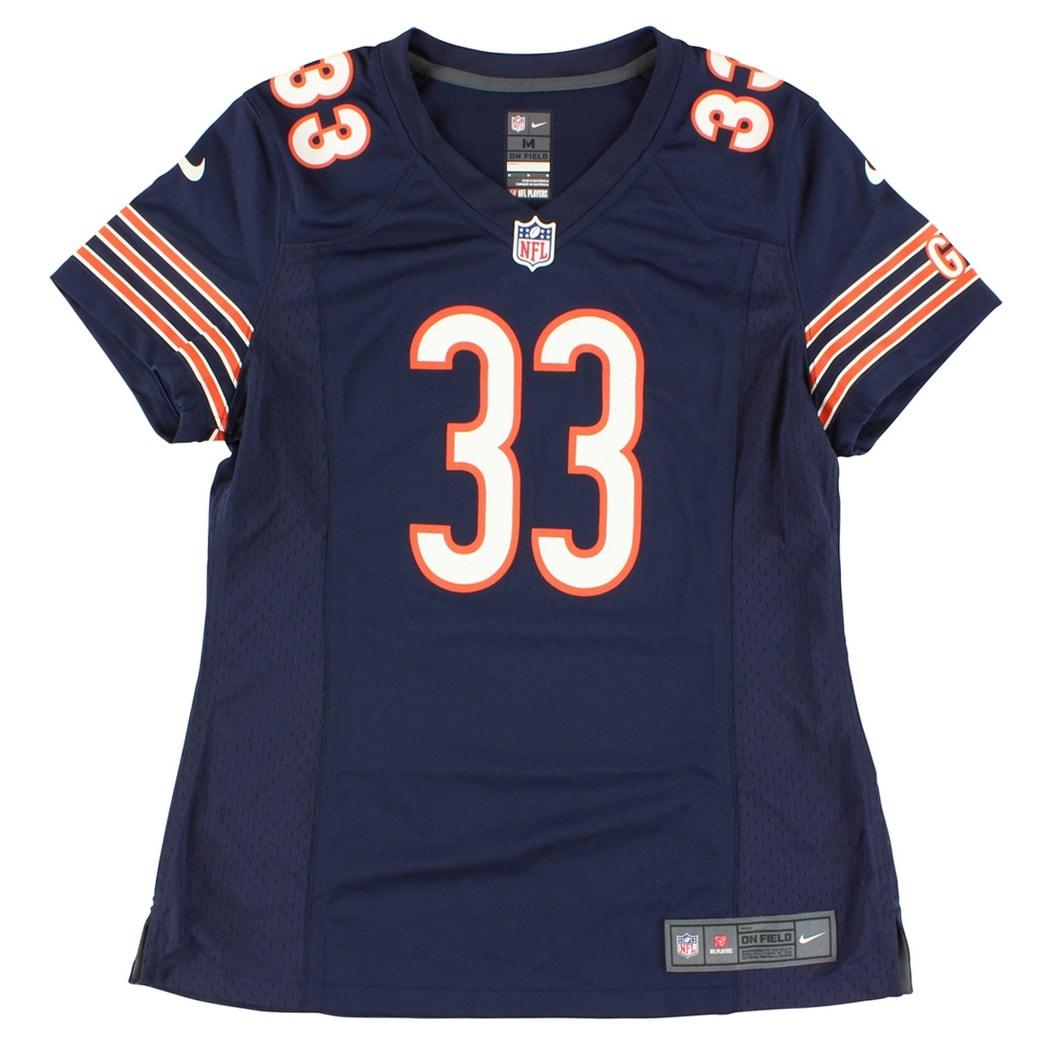 best sneakers 29eeb da353 Nike Womens Chicago Bears Charles Tillman NFL Game Jersey Navy Blue