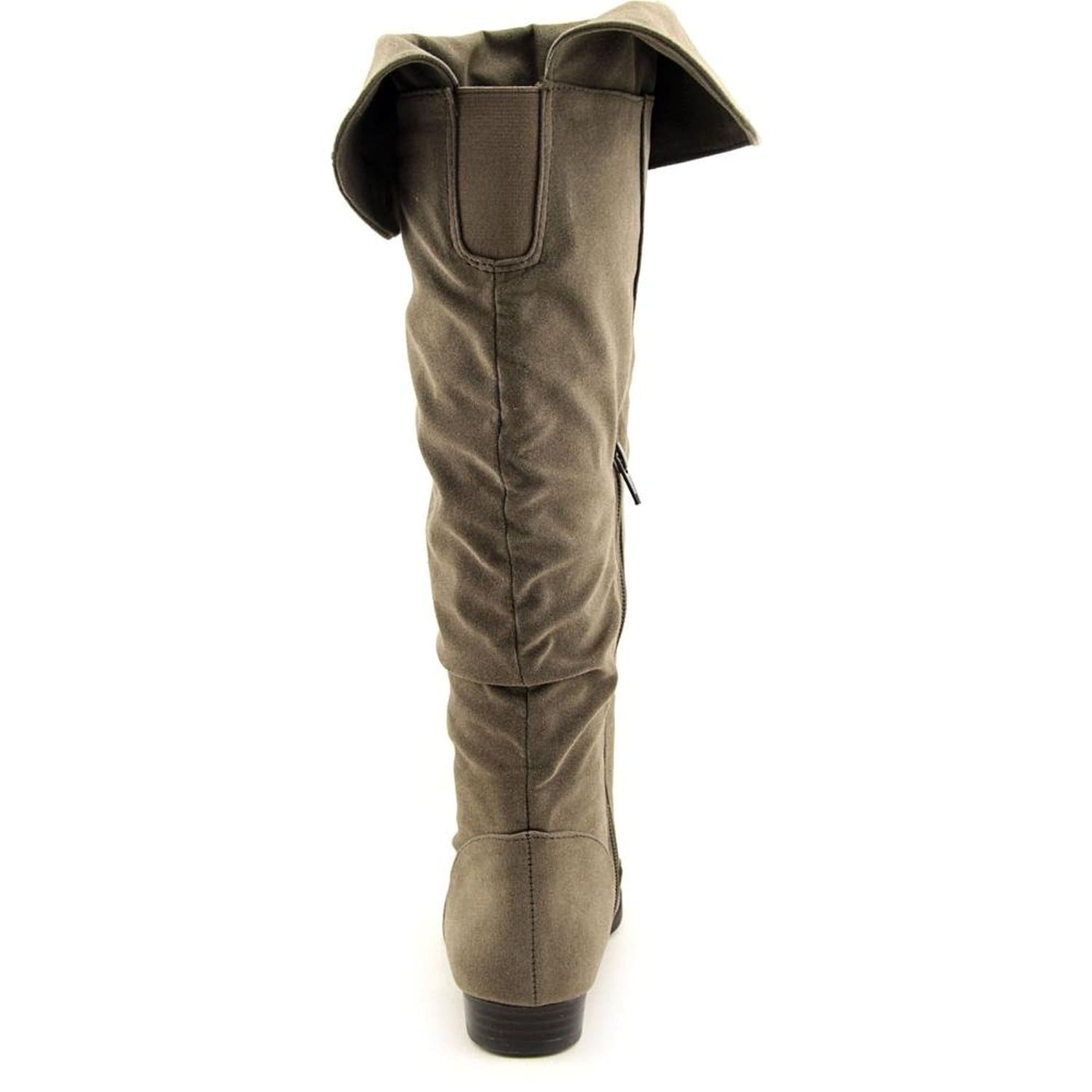 1465cd09584 Shop Style   Co. Womens TIRIZA Closed Toe Mid-Calf Fashion Boots - Free  Shipping On Orders Over  45 - Overstock - 14537176