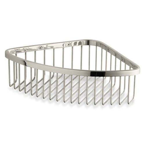 Shop Kohler K-1897 Corner Shower Basket - N/A - Free Shipping Today ...
