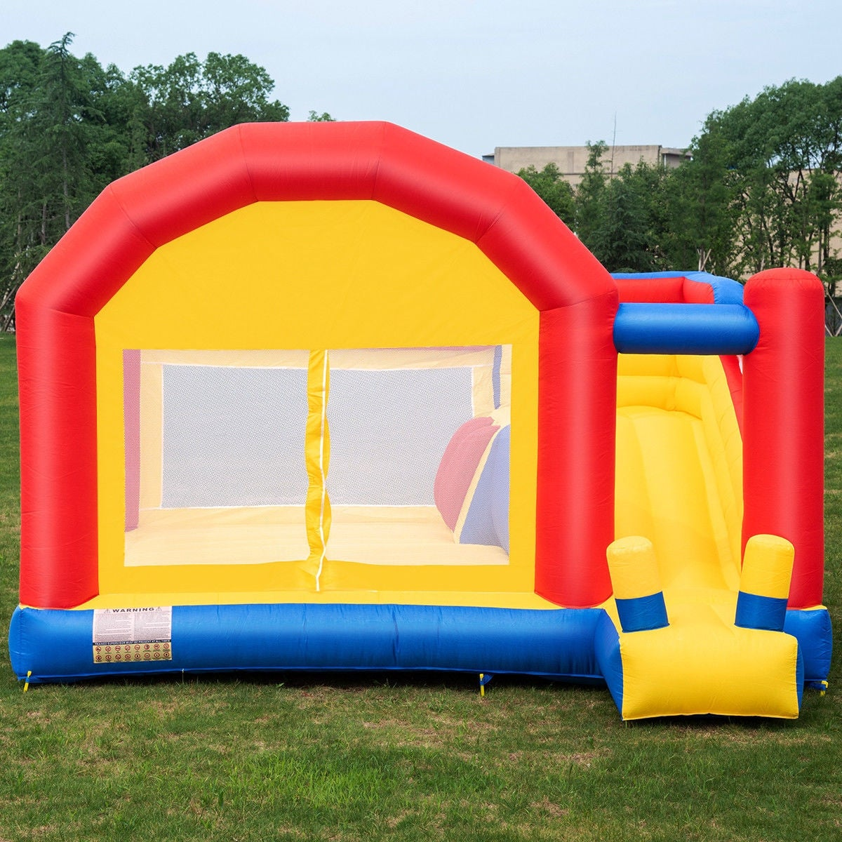 e9fb933a0a2 Shop Costway Inflatable Bounce House Slide Bouncer Castle Jumper Playhouse  without Blower - as pic - Free Shipping Today - Overstock - 22591202