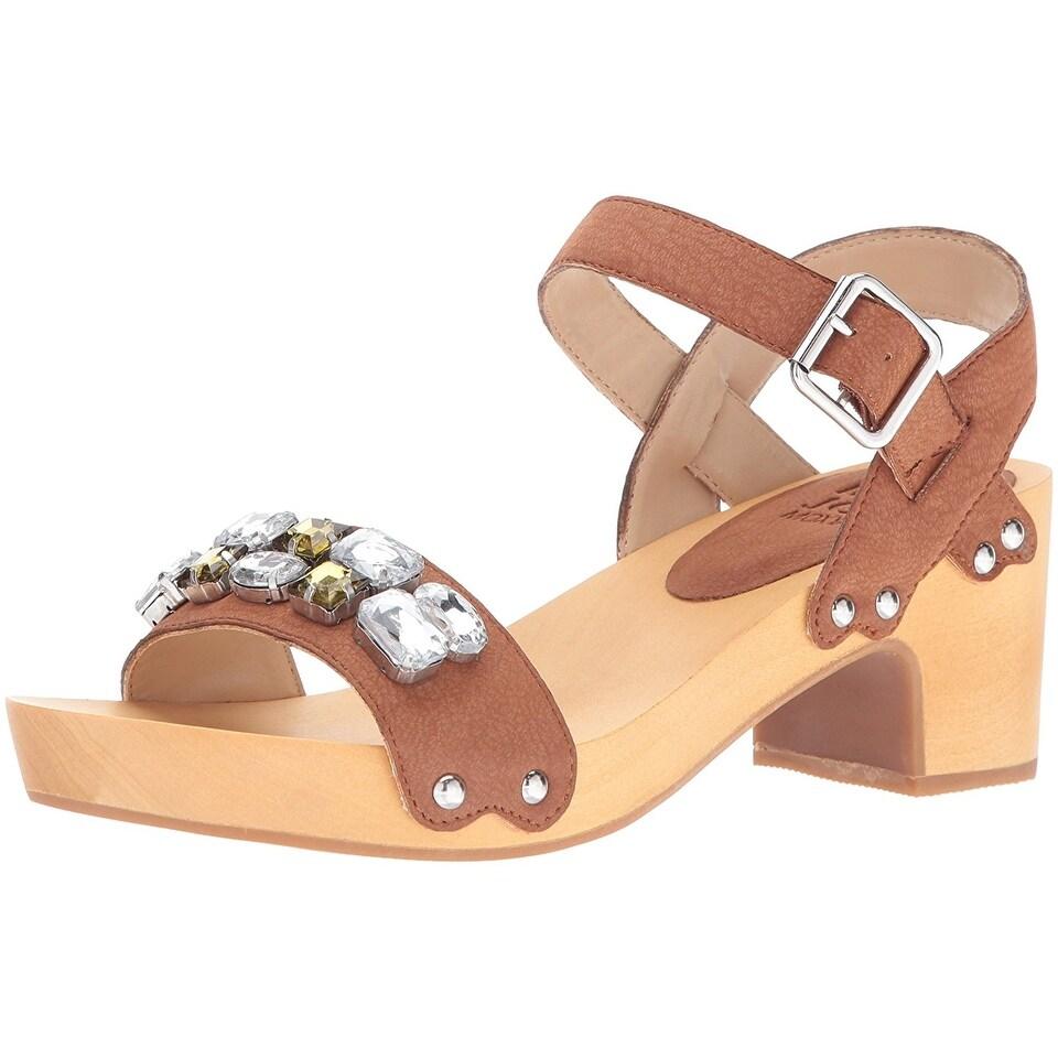 Mojo Moxy Womens Strawberry Open Toe Casual Platform Sandals Black Size 70