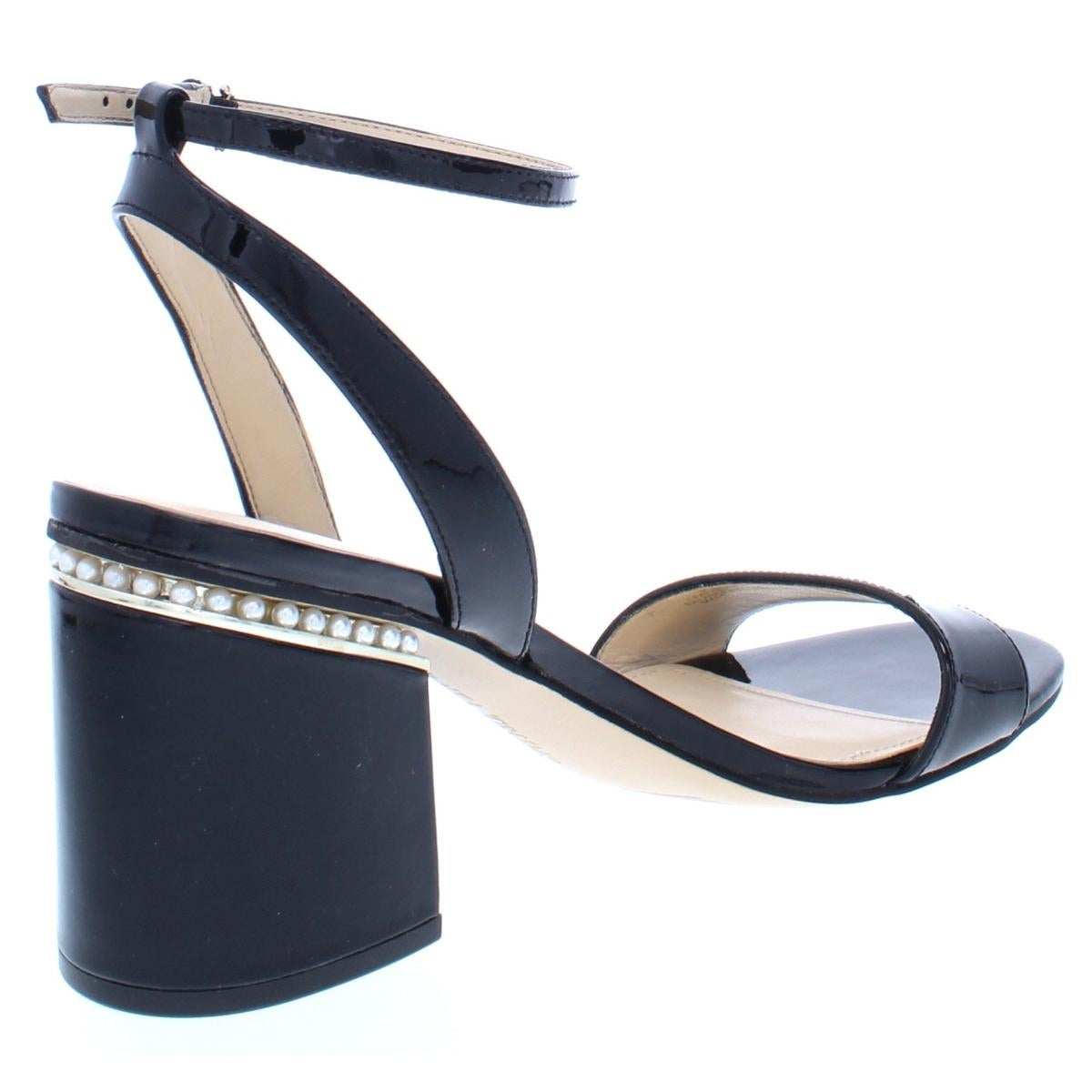 7921879f342 Shop Ivanka Trump Womens Anina Dress Sandals Patent Leather Block Heel -  Free Shipping Today - Overstock - 27080146