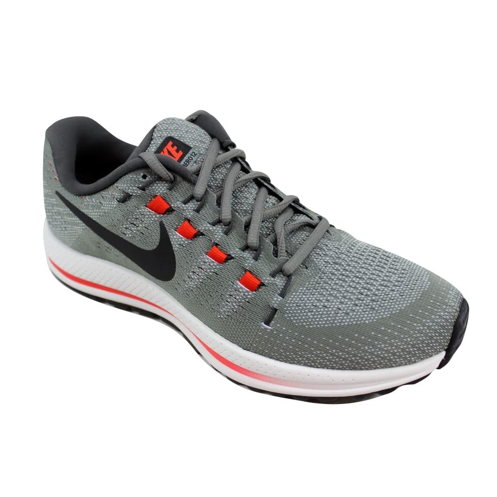878db62364f3 Shop Nike Air Zoom Vomero 12 Tumbled Grey Black 863762-006 Men s - Free  Shipping Today - Overstock - 24306569