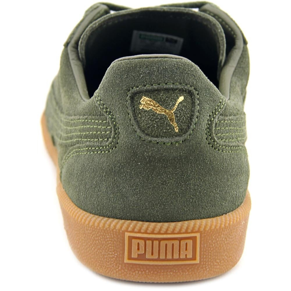 c129cd7bdfd4 Shop Puma Super Liga Modern Heritage Men Round Toe Suede Green Sneakers -  Free Shipping On Orders Over  45 - Overstock - 17010949