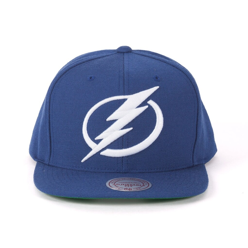 purchase cheap 51ffd 28263 ... discount code for mitchell ness tampa bay lightning navy adjustable  snapback free shipping on orders over