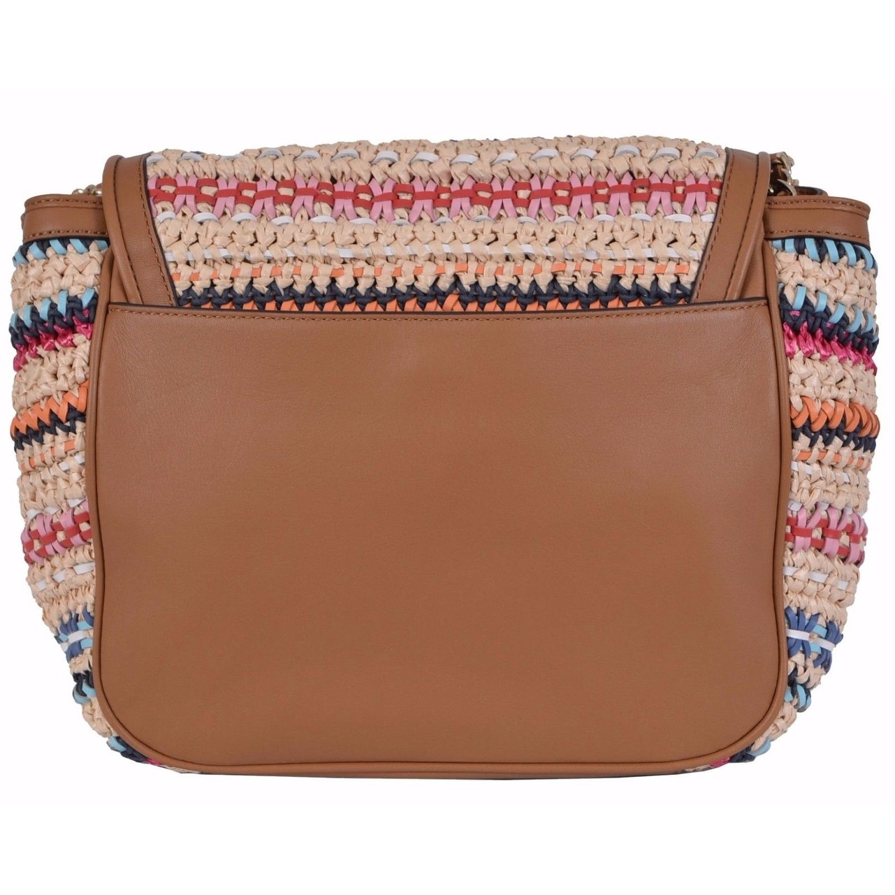 c805a291d222 Shop Tory Burch Woven Marion Boho Flap Shoulder Purse Handbag - On Sale -  Free Shipping Today - Overstock - 21527274