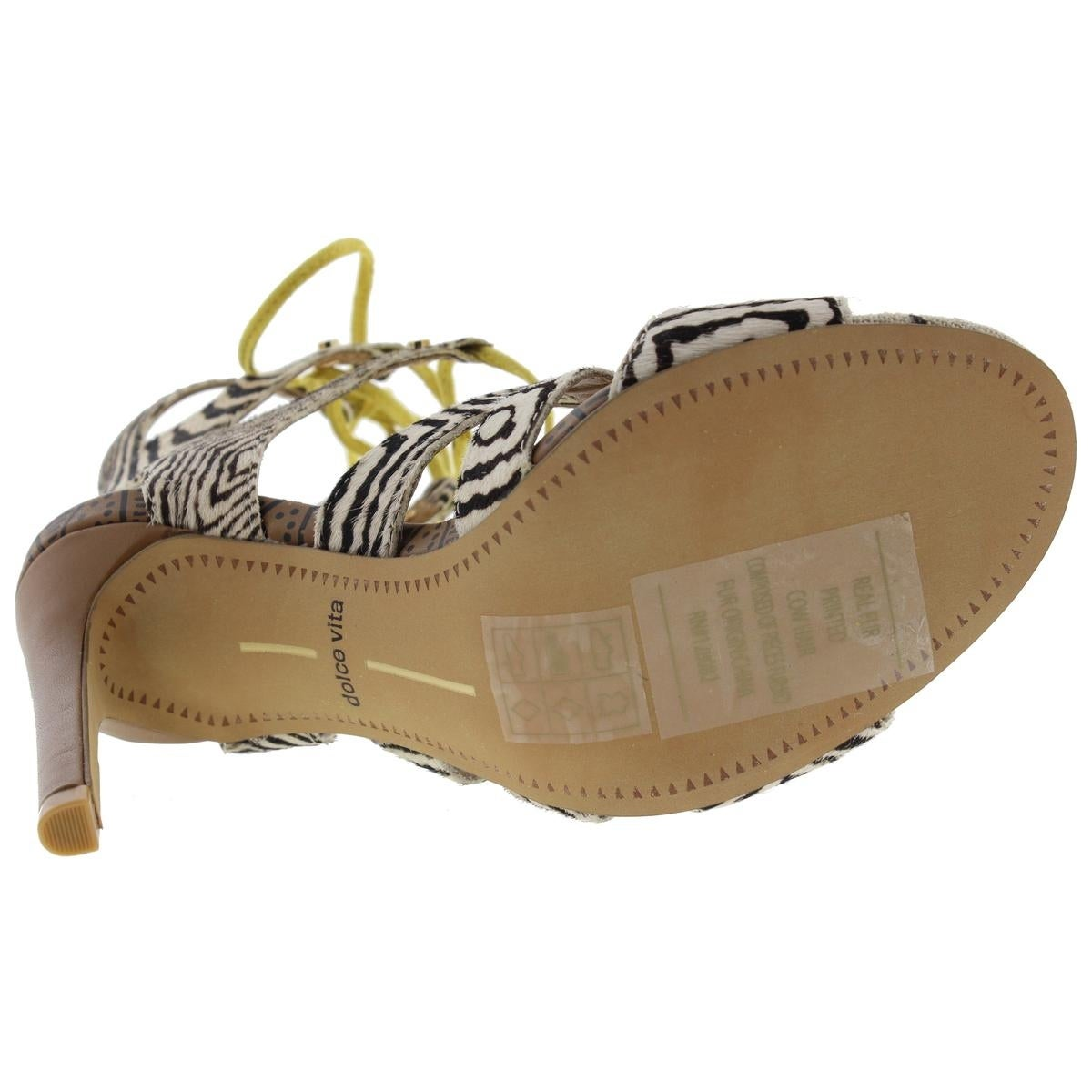 02ce90efa6d Shop Dolce Vita Womens Howie Gladiator Sandals Studded Heels - Free  Shipping Today - Overstock - 14104342
