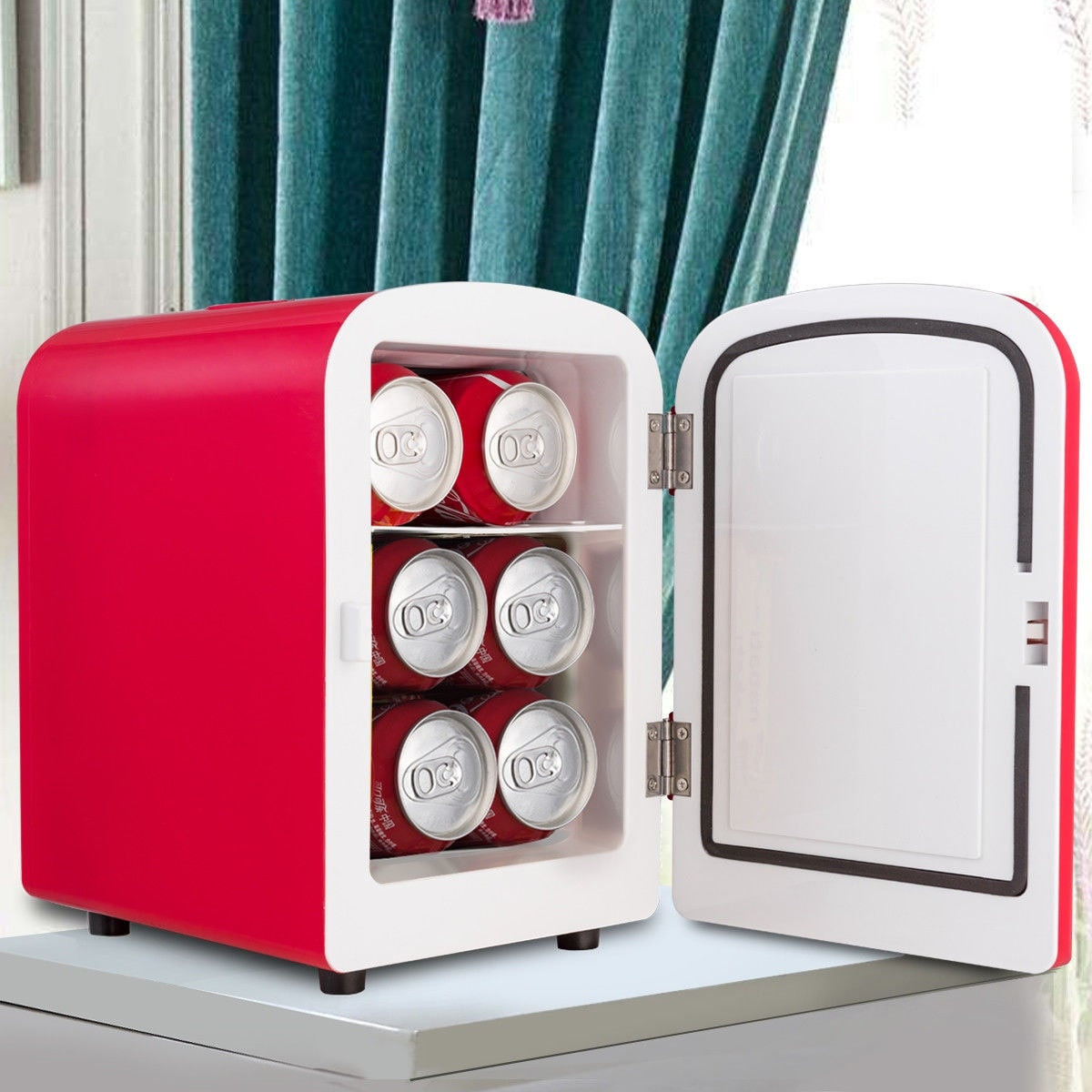 small portable office. Costway Portable Mini Fridge Cooler And Warmer Auto Car Boat Home Office AC \u0026 DC Red - Free Shipping Today Overstock 26466143 Small