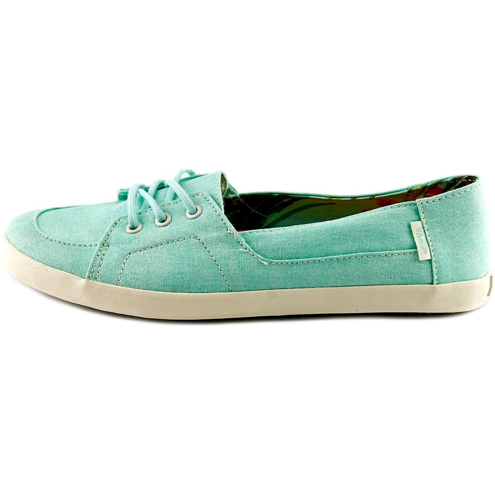282860d77fb3fa Shop Vans Palisades Vulc Women (Washed Canvas) Beach Glass Sneakers Shoes -  Free Shipping On Orders Over  45 - Overstock - 13577655