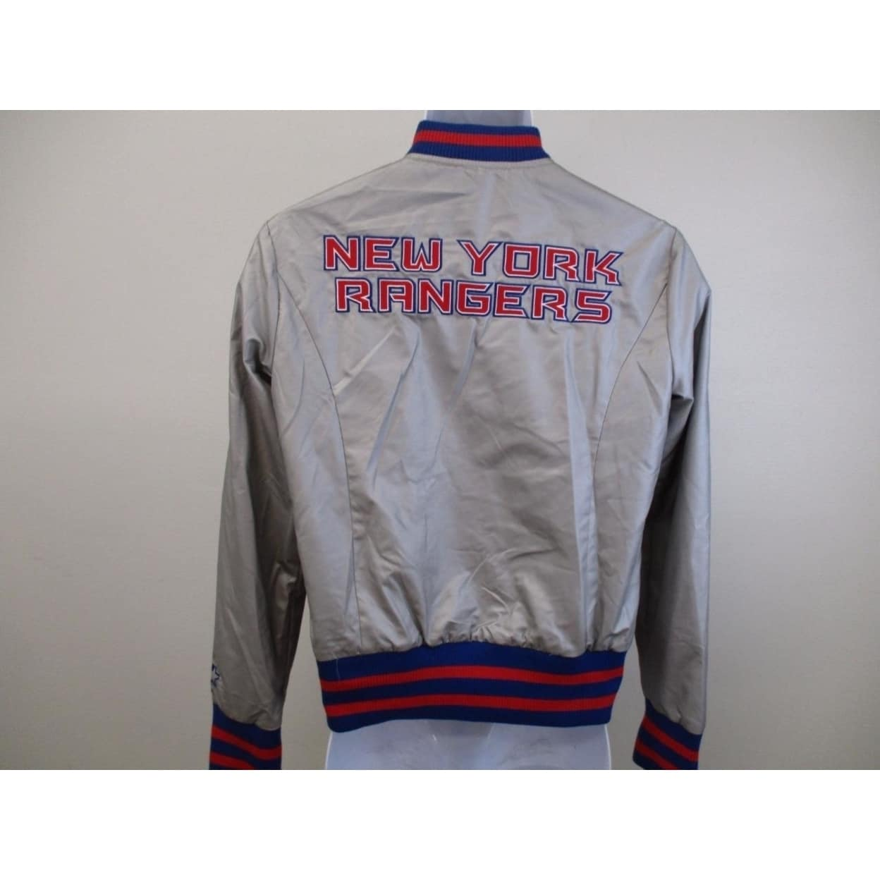 Shop NY Rangers Womens Size M Medium Silver Starter Light Jacket - Free  Shipping On Orders Over  45 - Overstock.com - 23547136 963a14016d