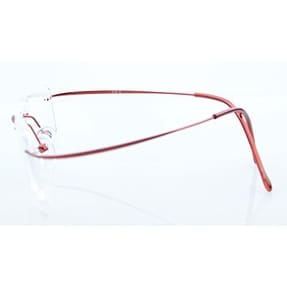 5ada8b8f143 Shop Eyekepper Titanium Rimless Reading Glasses Readers Women Red +2.75 -  Free Shipping On Orders Over  45 - Overstock.com - 15193865