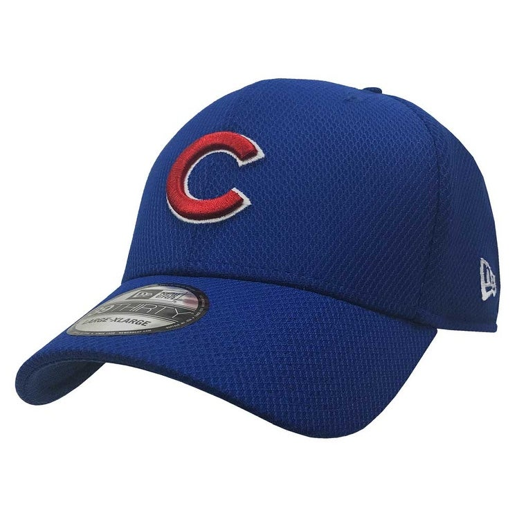 Shop New Era Chicago Cubs Baseball Cap Hat MLB 39Thirty Stretch 3930  70322398 - Free Shipping On Orders Over  45 - Overstock - 17743754 652729a5885