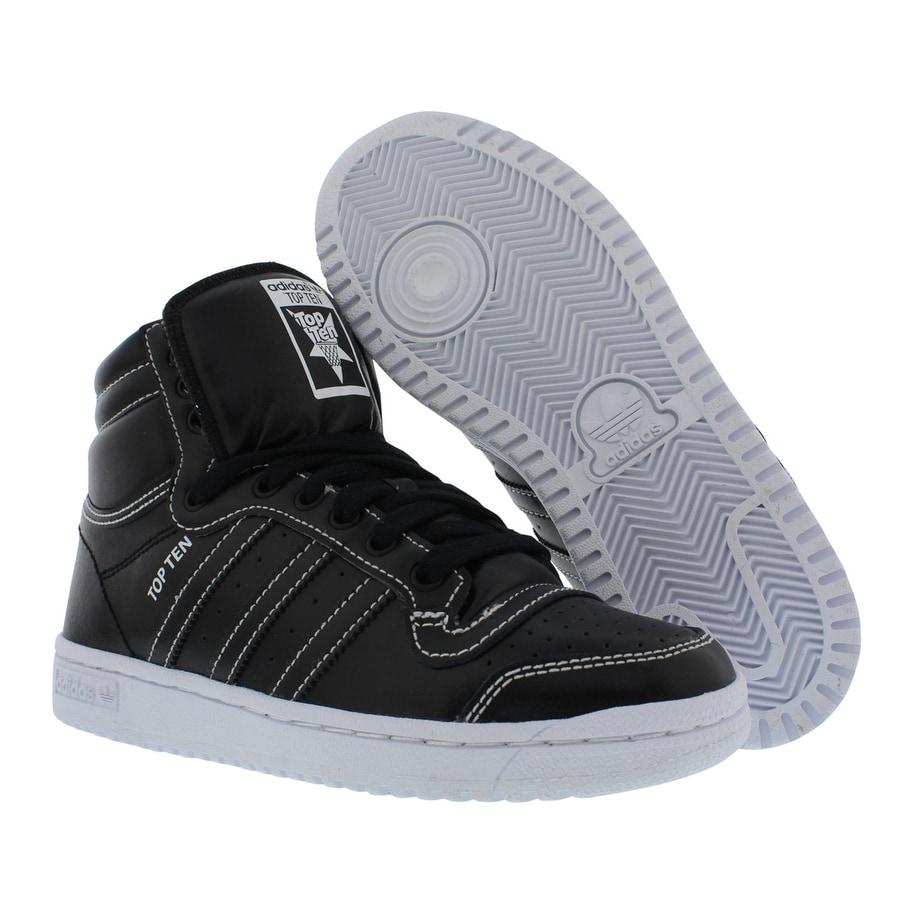 Shop Adidas Top Ten Hi Gradeschool Kid s Shoes - Free Shipping Today -  Overstock - 22125223 78aad2ae1