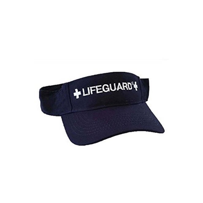 Officially Licensed Lifeguard Visor - Feel Comfortable - Hat for Men    Women 2193701caed