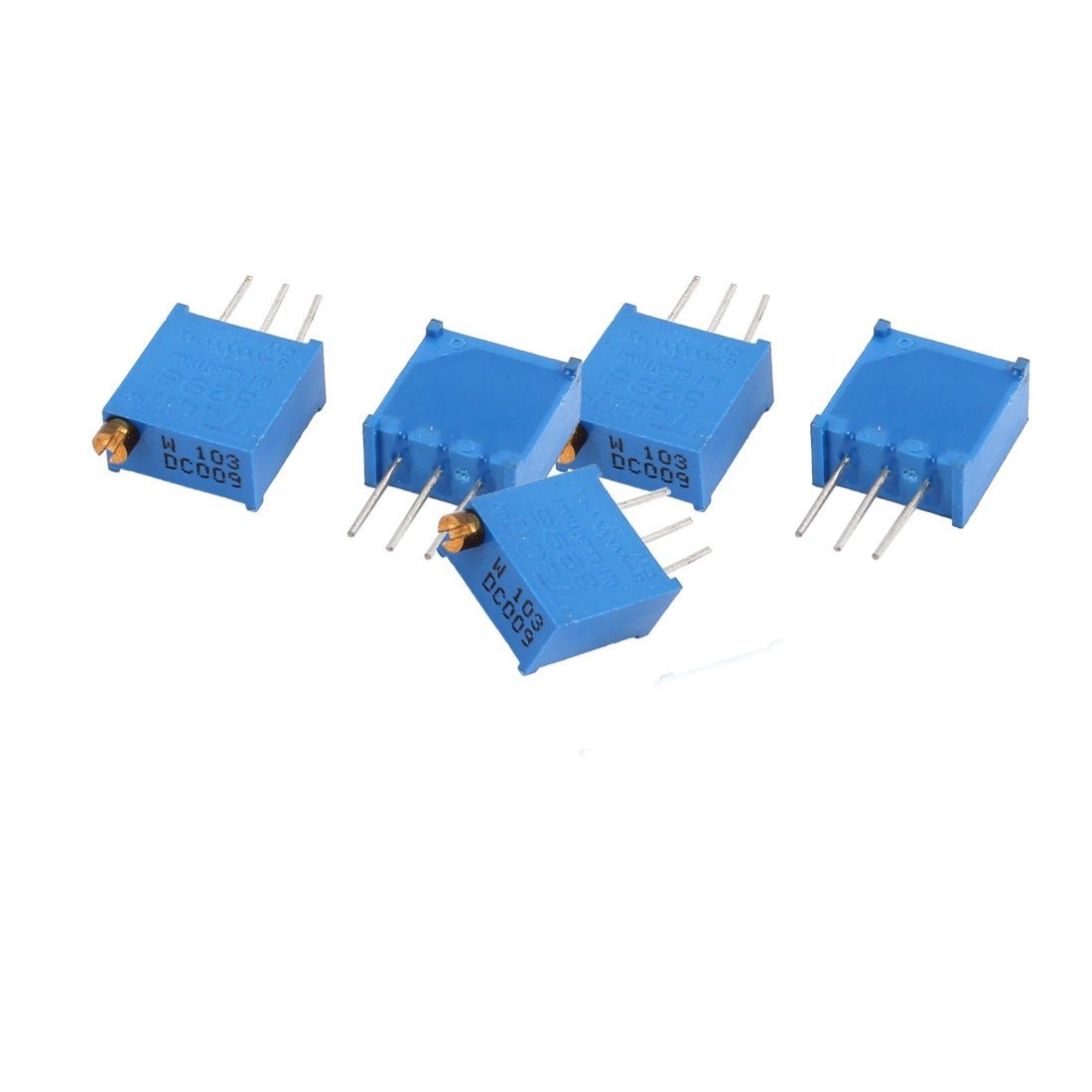 Shop 5pcs 3296w 103 10k Ohm High Precision Variable Resistor Circuit Potentiometer On Sale Free Shipping Orders Over 45 18273957