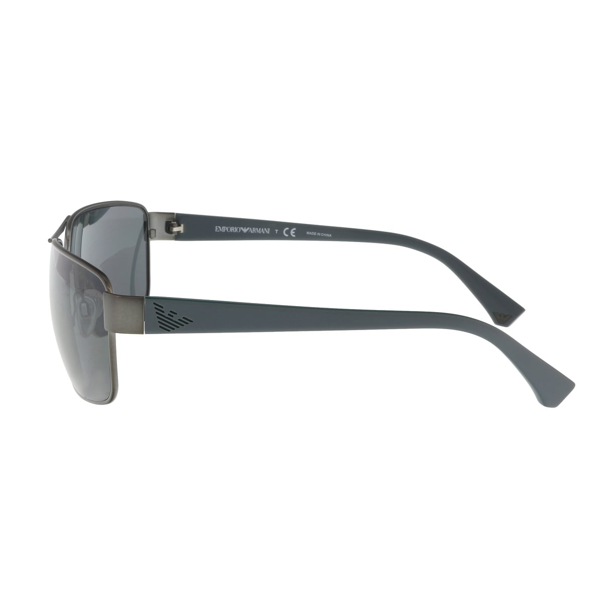 cd8cbc2ccd24 Shop Emporio Armani EA2031 311287 Gunmetal Grey Rectangle Sunglasses -  62-15-130 - Free Shipping Today - Overstock.com - 21158041