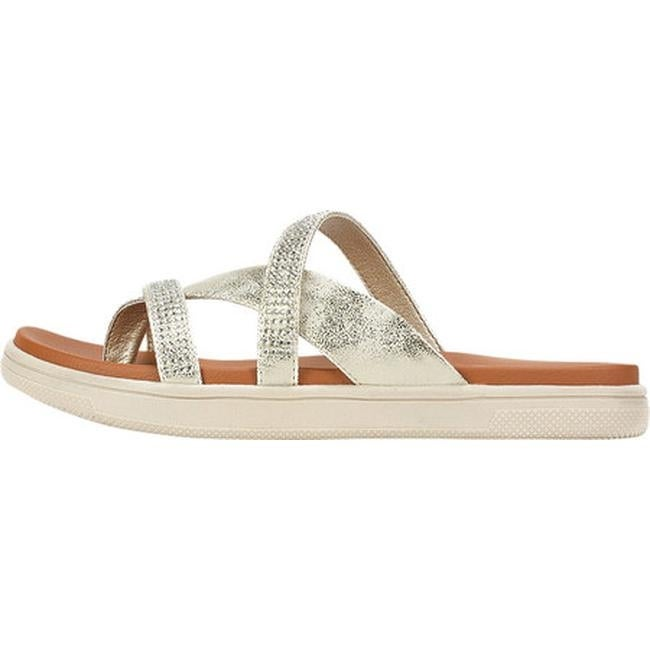 e6e815ddef Shop Cliffs by White Mountain Women s Bunnie Thong Sandal Pale Gold  Metallic Smooth Polyurethane - Free Shipping On Orders Over  45 - Overstock  - 20670891