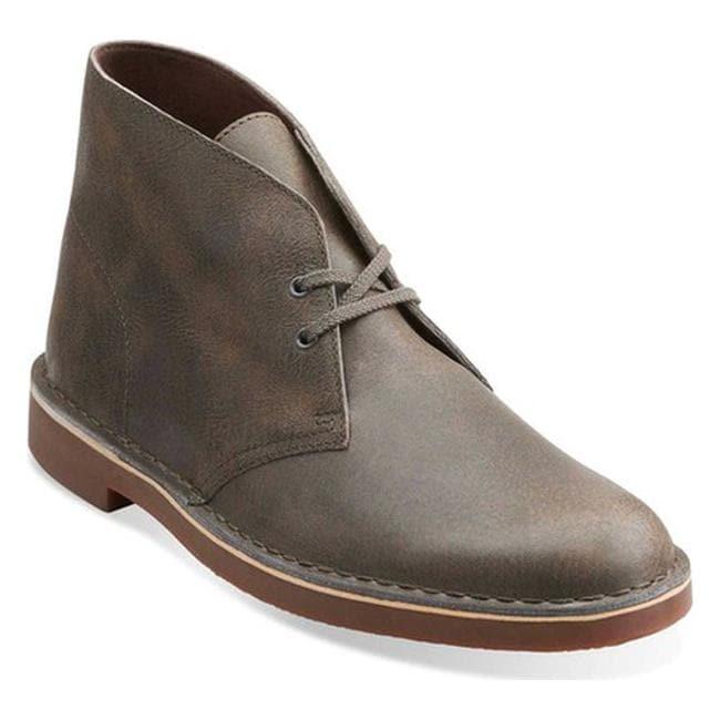 3d74d24bdd1f Shop Clarks Men s Bushacre 2 Boot Grey Leather - On Sale - Free ...