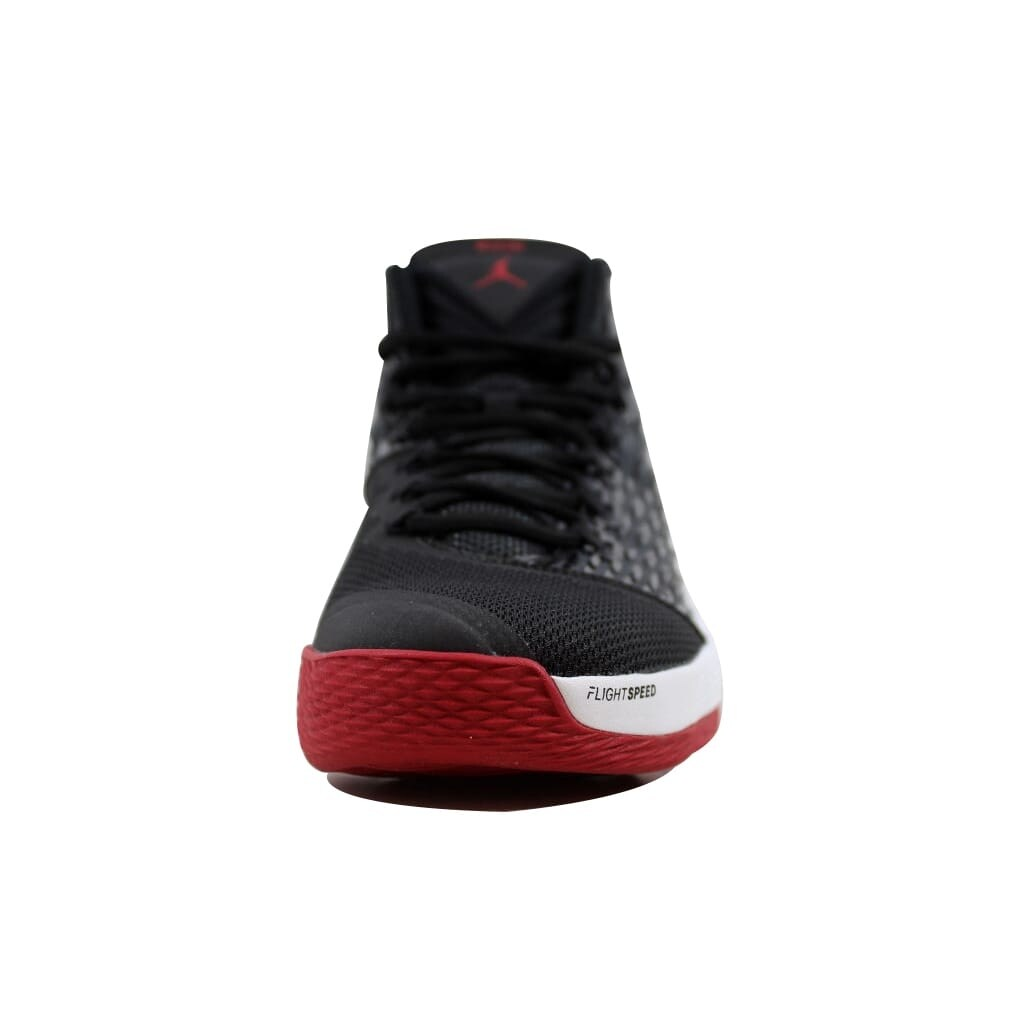 904cd897bf18 Shop Nike Men s Air Jordan Melo M13 Black Gym Red-White-Anthracite 881562- 002 - Free Shipping Today - Overstock - 22340605