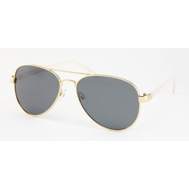 1ea07711f67 Shop Maui and Sons Mens Gold Aviator Sunglasses MS008-5