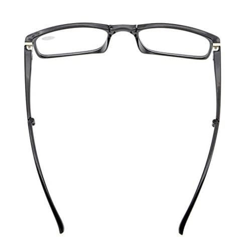 d998e7db5a7 Shop Eyekepper Unique Spring Hinges Folding Reading Glasses Black +0.5 - Free  Shipping On Orders Over  45 - Overstock.com - 15914440