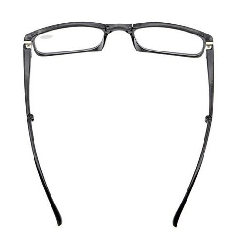 925645c10a09 Shop Eyekepper Unique Spring Hinges Folding Reading Glasses Black +0.5 -  Free Shipping On Orders Over  45 - Overstock.com - 15914440
