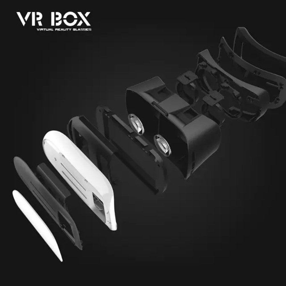6c47862d5736 Shop Kanstar VR BOX V2 3D Headset Glasses VR Virtual Reality 3D Video Game  Glasses W  Remote - Free Shipping On Orders Over  45 - Overstock - 19754175