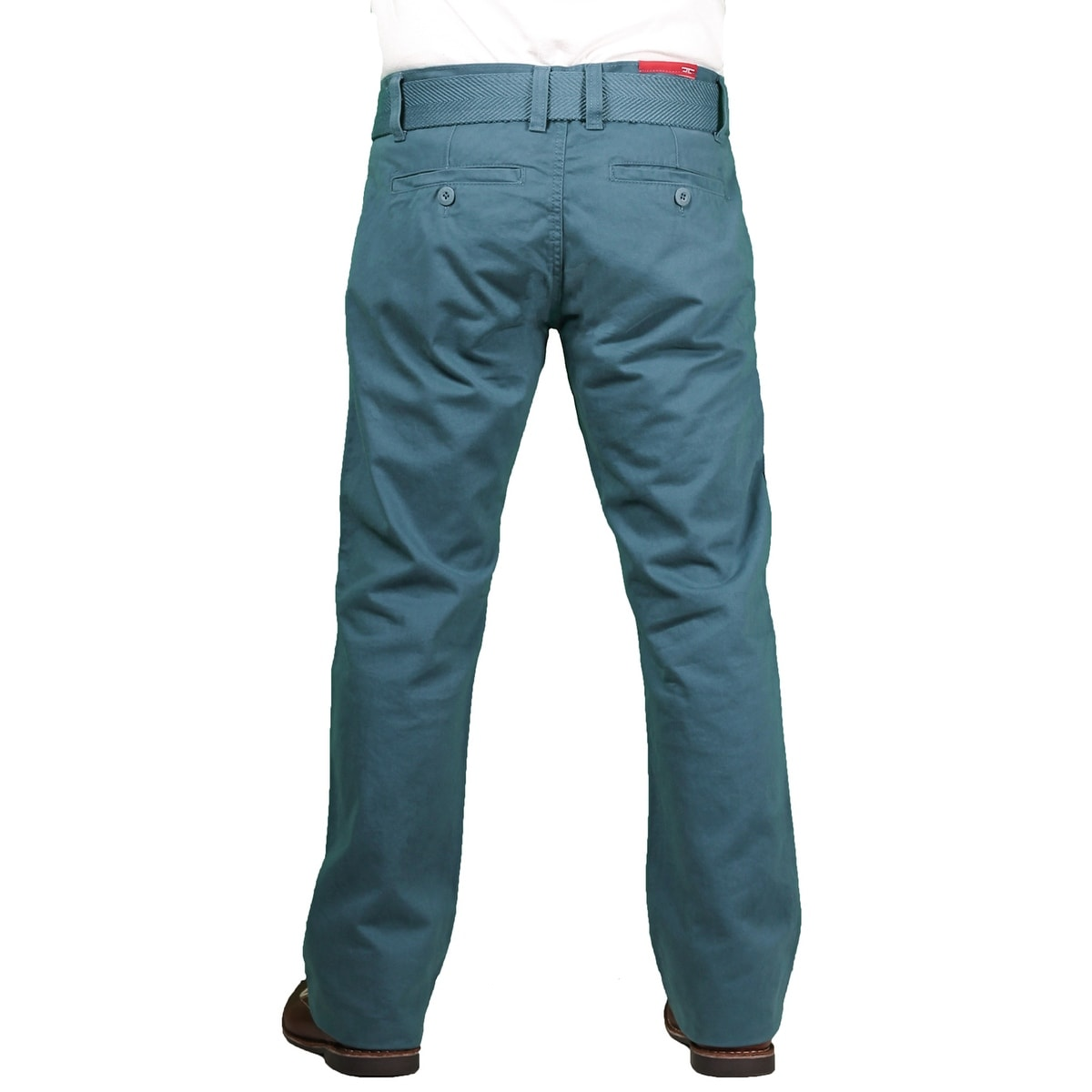 94cd2dcd71791e Shop Jordan Craig Young Men s Belted Twill Casual Pant - Free Shipping On  Orders Over  45 - Overstock - 15092664