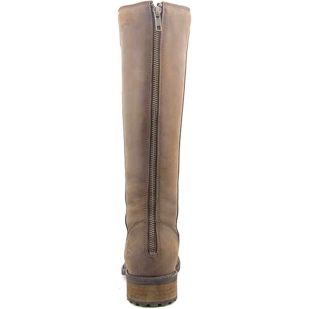 06ba07cce28 Ugg Australia Seldon Women Round Toe Leather Brown Knee High Boot