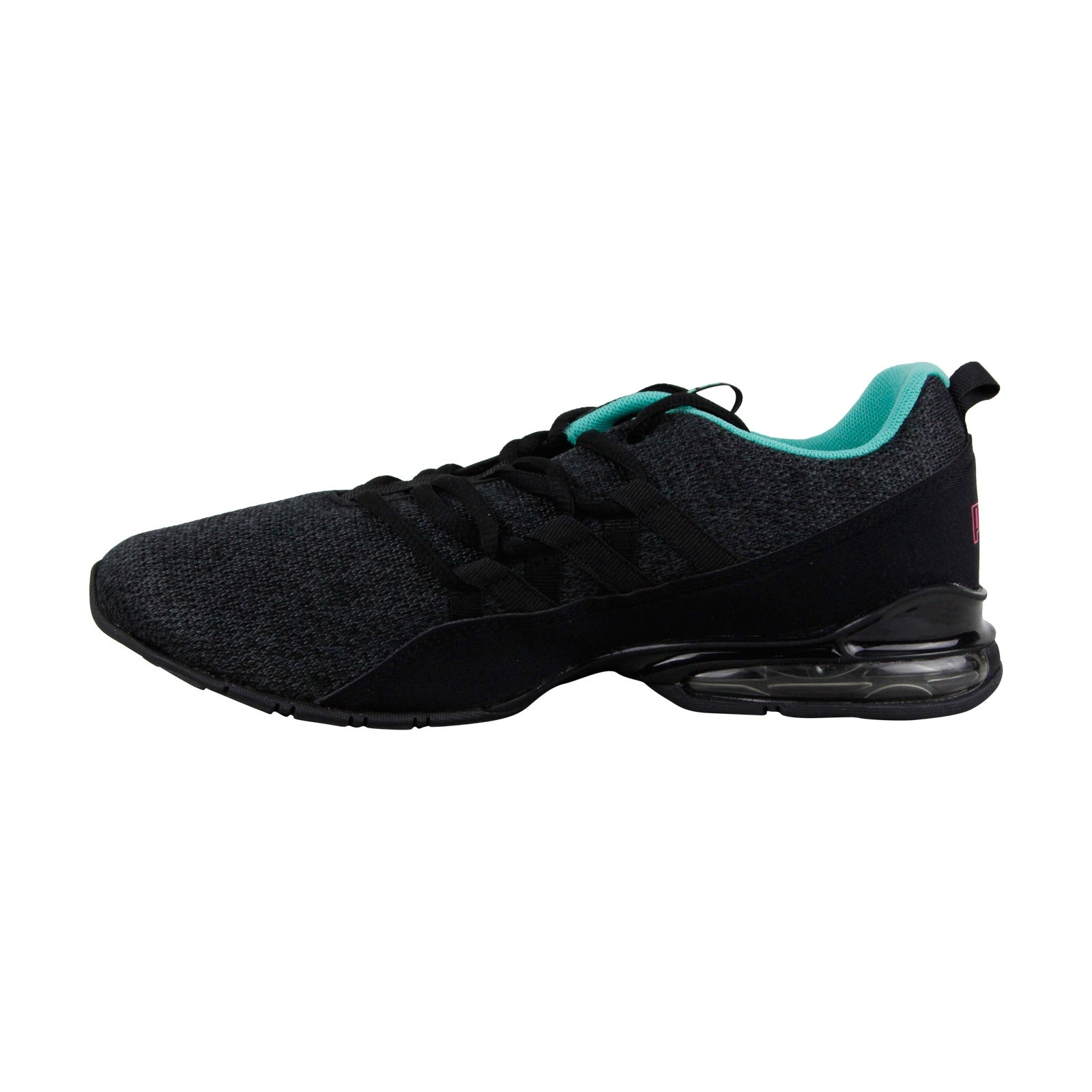 Shop Puma Riaze Prowl Womens Black Textile Athletic Lace Up Running Shoes -  Free Shipping Today - Overstock - 25364974 018d3fdee