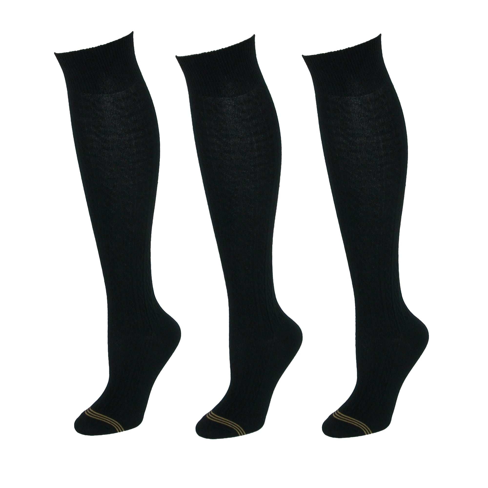 1a41e675684 Shop Gold Toe Girls  Cable Knit Knee High Uniform Socks (Pack of 3) - Free  Shipping On Orders Over  45 - Overstock - 14278778