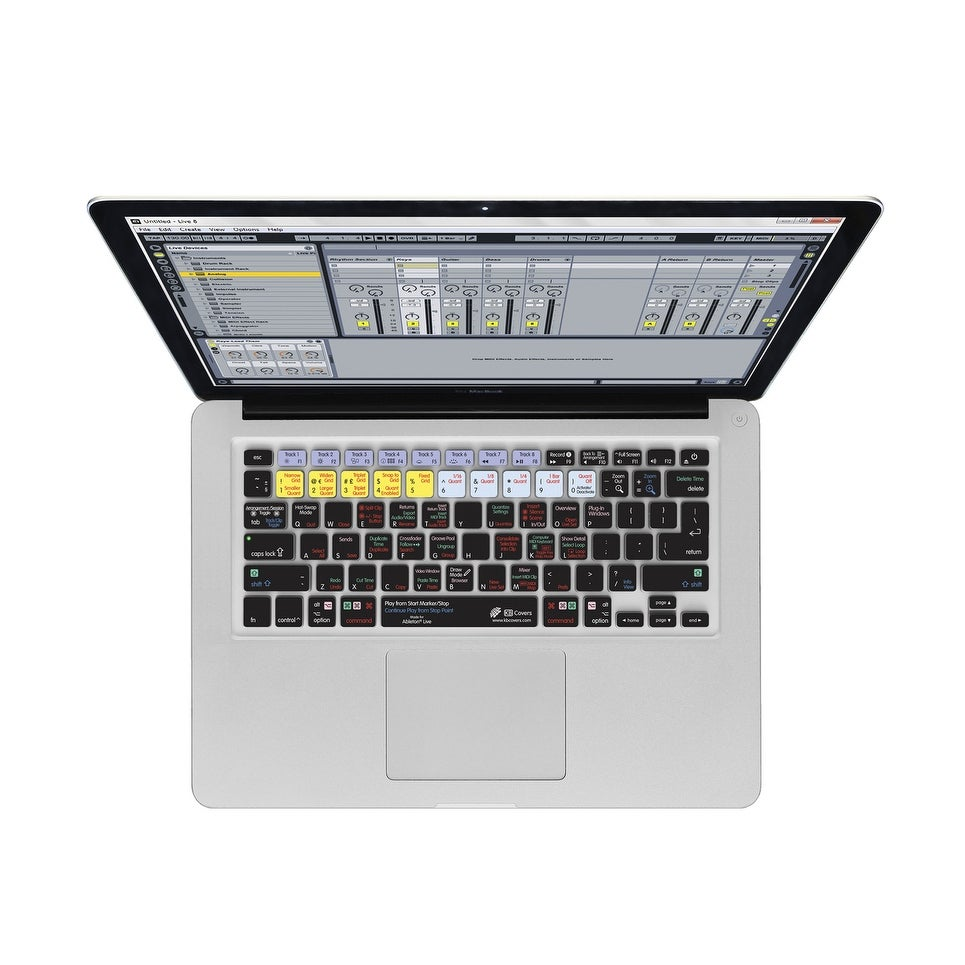KB Covers Ableton Live Keyboard Cover for MacBook/Air 13/Pro (2008+)/Retina  & Wireless (AL-M-CC-2)