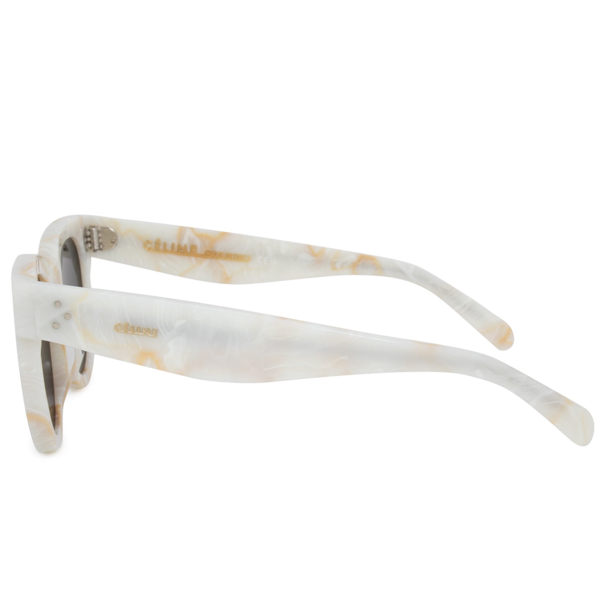 eca8f326db70 Shop Celine Baby Audrey Cat Eye Sunglasses 41053 S 21J NR 47 - On Sale -  Free Shipping Today - Overstock - 23138872