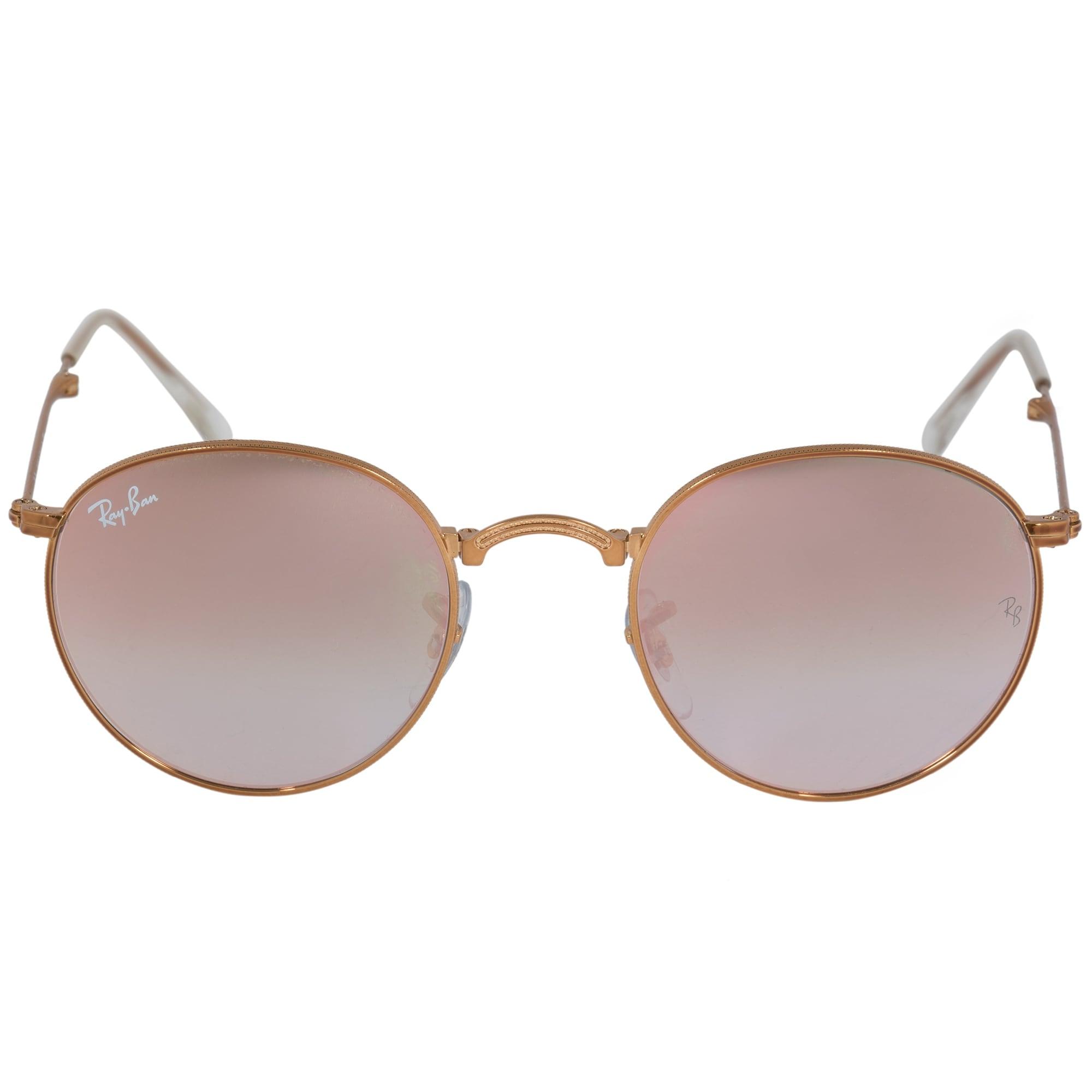 31638e56ef Shop Ray-Ban Round Folding Sunglasses RB3532 1987Y 47