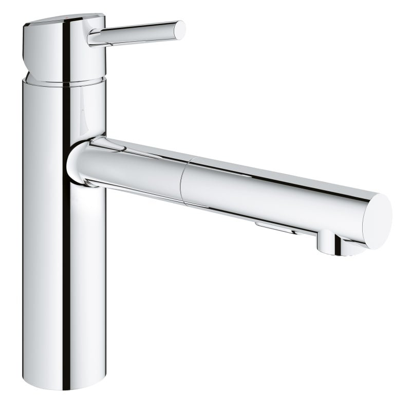 Grohe 31 453 Concetto Pull-Out Kitchen Faucet with 2-Function ...