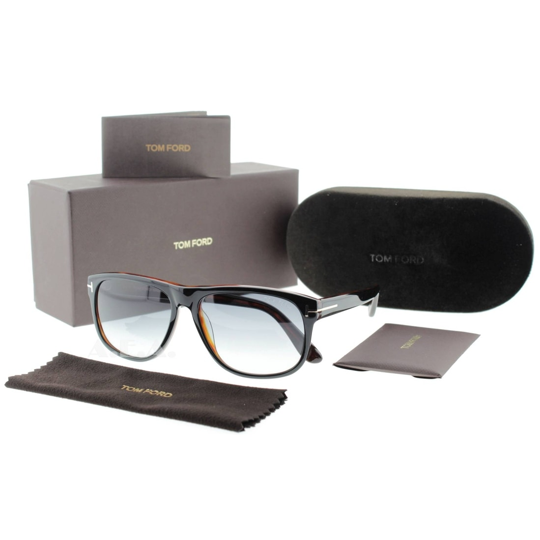 b37dc79d0084 Shop Tom Ford Olivier TF 236 05B Black Havana Gray Gradient Men s Square  Sunglasses - Black Havana - 58mm-15mm-145mm - Free Shipping Today -  Overstock - ...