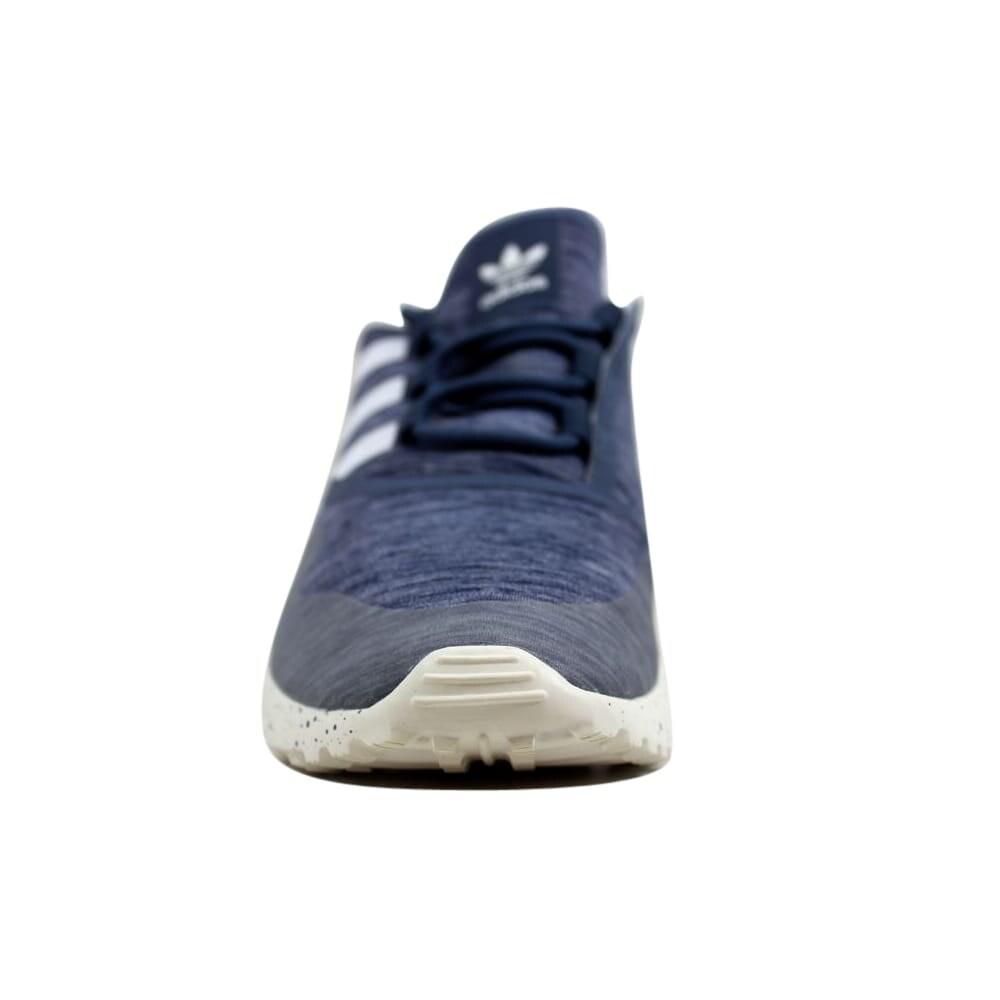 8c3ff20b2b29b Shop Adidas ZX Flux ADV Virtue W Tech Ink Core White Women s S79857 Size  8.5 Medium - Free Shipping Today - Overstock - 24015087