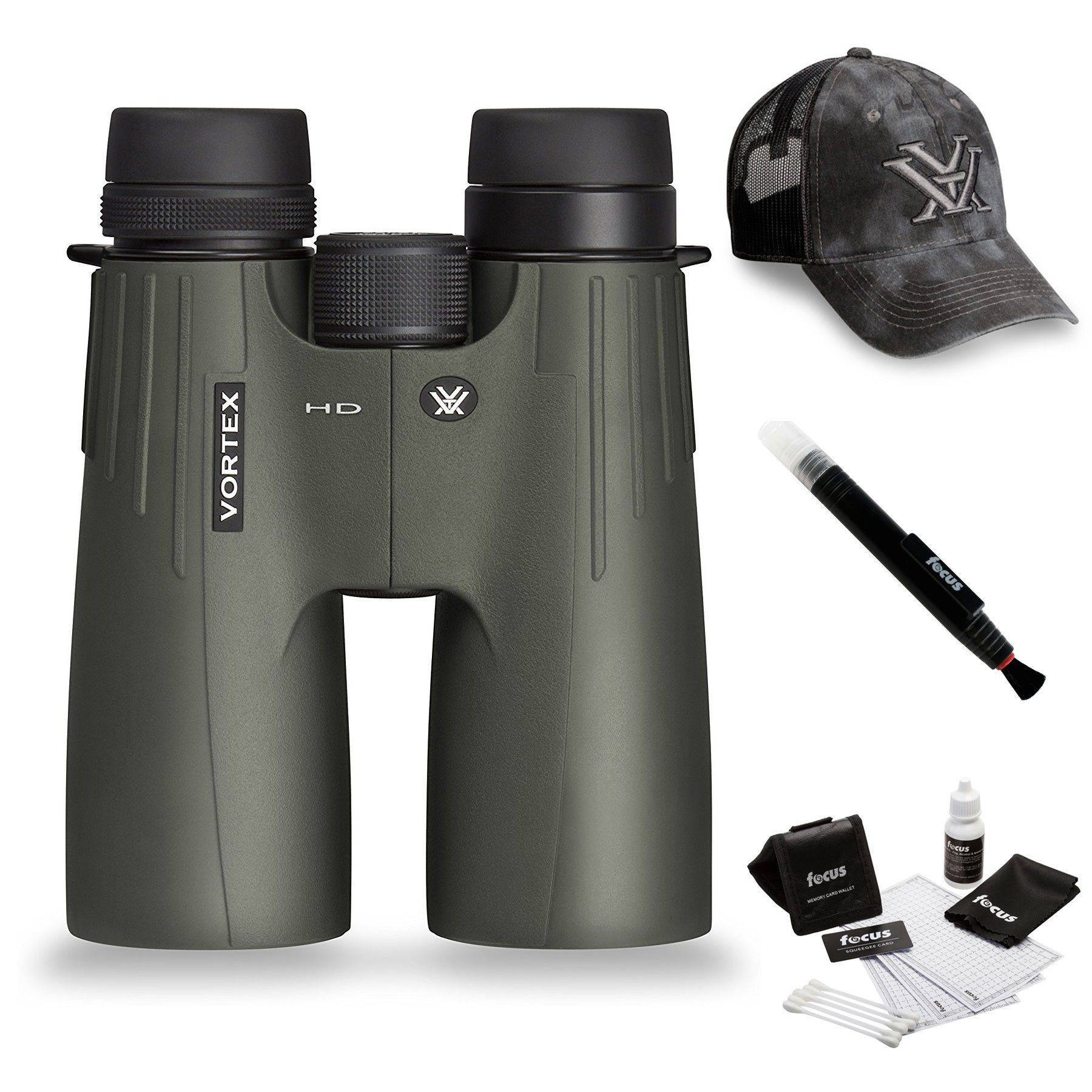 Shop Vortex 15x50 Viper HD Binocular + Foam Float Strap + Accessory Kit -  Free Shipping Today - Overstock.com - 16147255