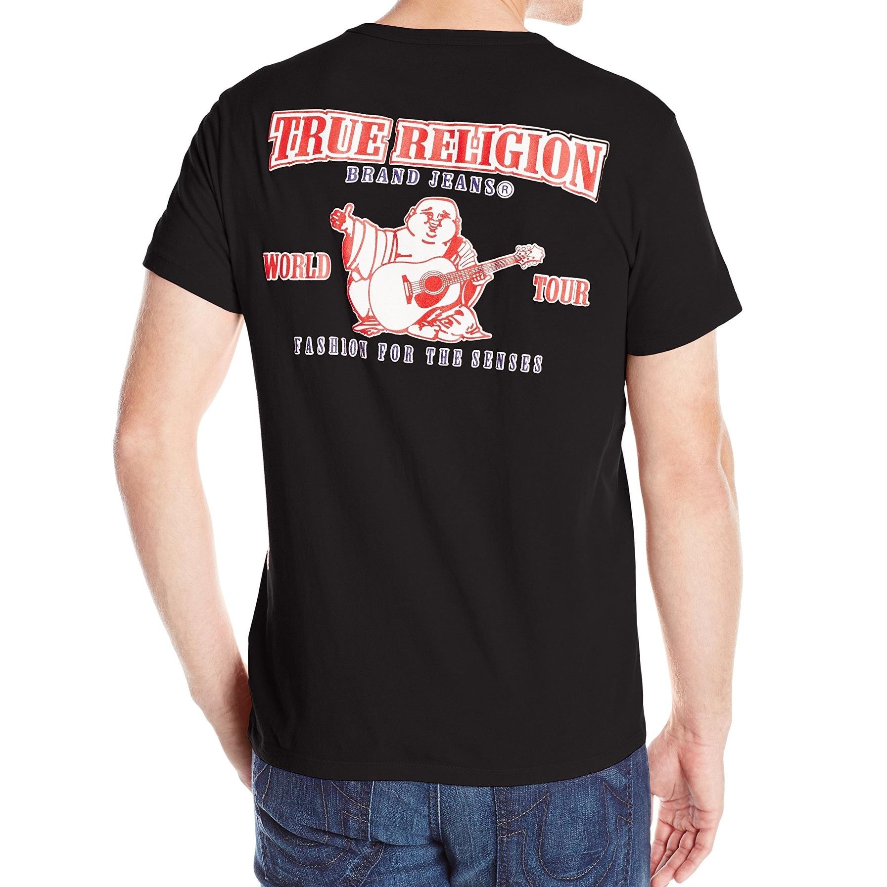 Black And Red True Religion Shirt T Shirts Design Concept