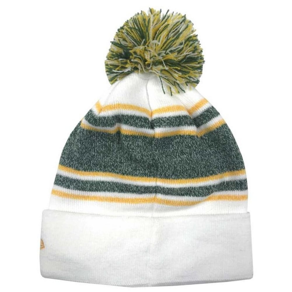 9a6740da9bd Shop New Era Green Bay Packers NFL Stocking Knit Hat Winter Beanie Sideline  11439628 - Free Shipping On Orders Over  45 - Overstock - 18609183