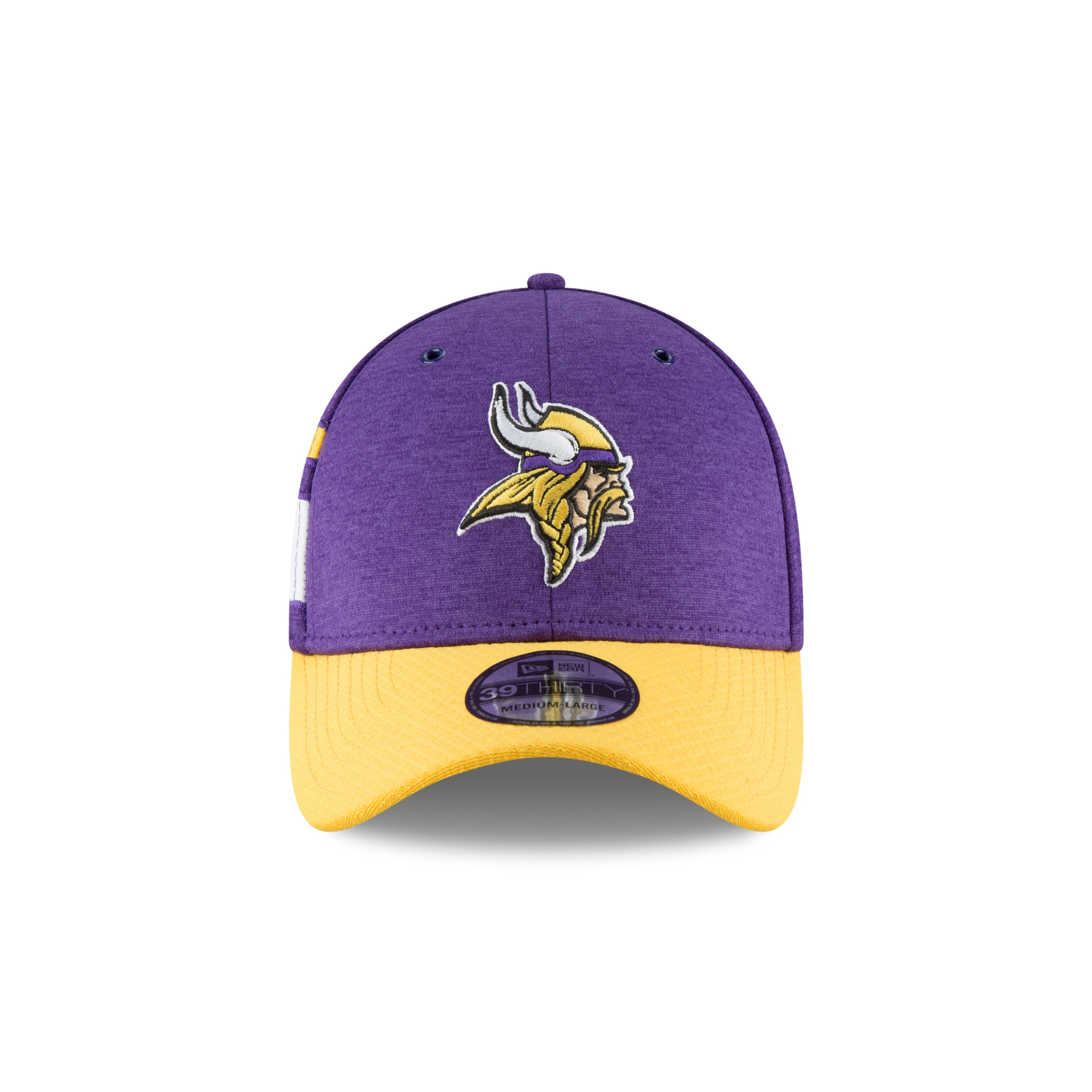 Shop Minnesota Vikings Official Sideline Home 39THIRTY Stretch Fit Cap -  Free Shipping On Orders Over  45 - Overstock - 23535313 5e35069c4