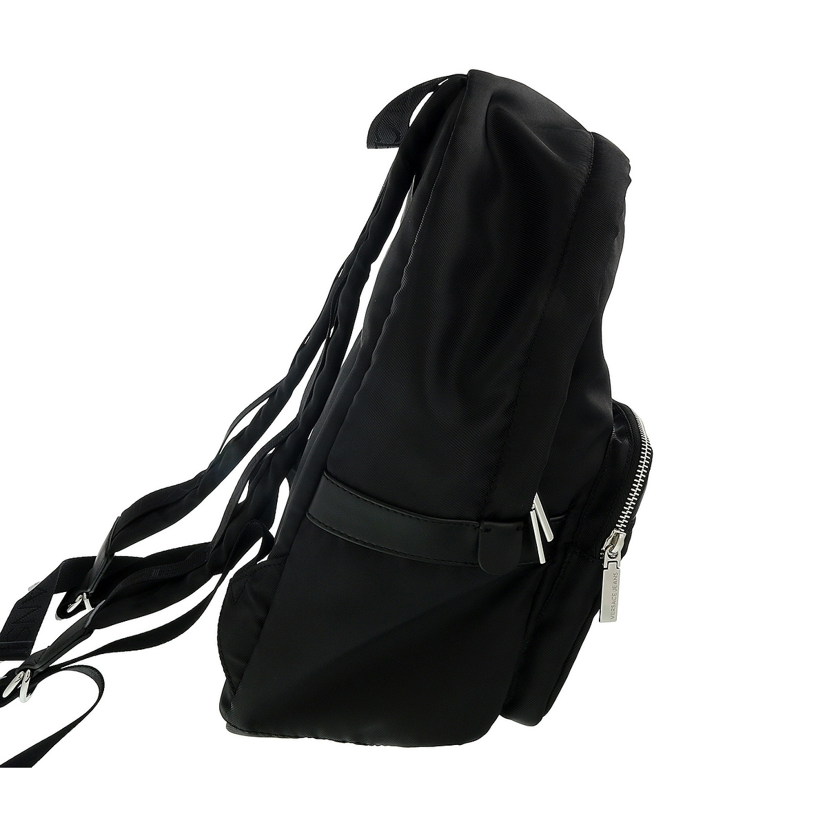 8b6b04ae4e Shop Versace EE1YSBB03 EMAG Black Backpack - Free Shipping Today -  Overstock - 25613901