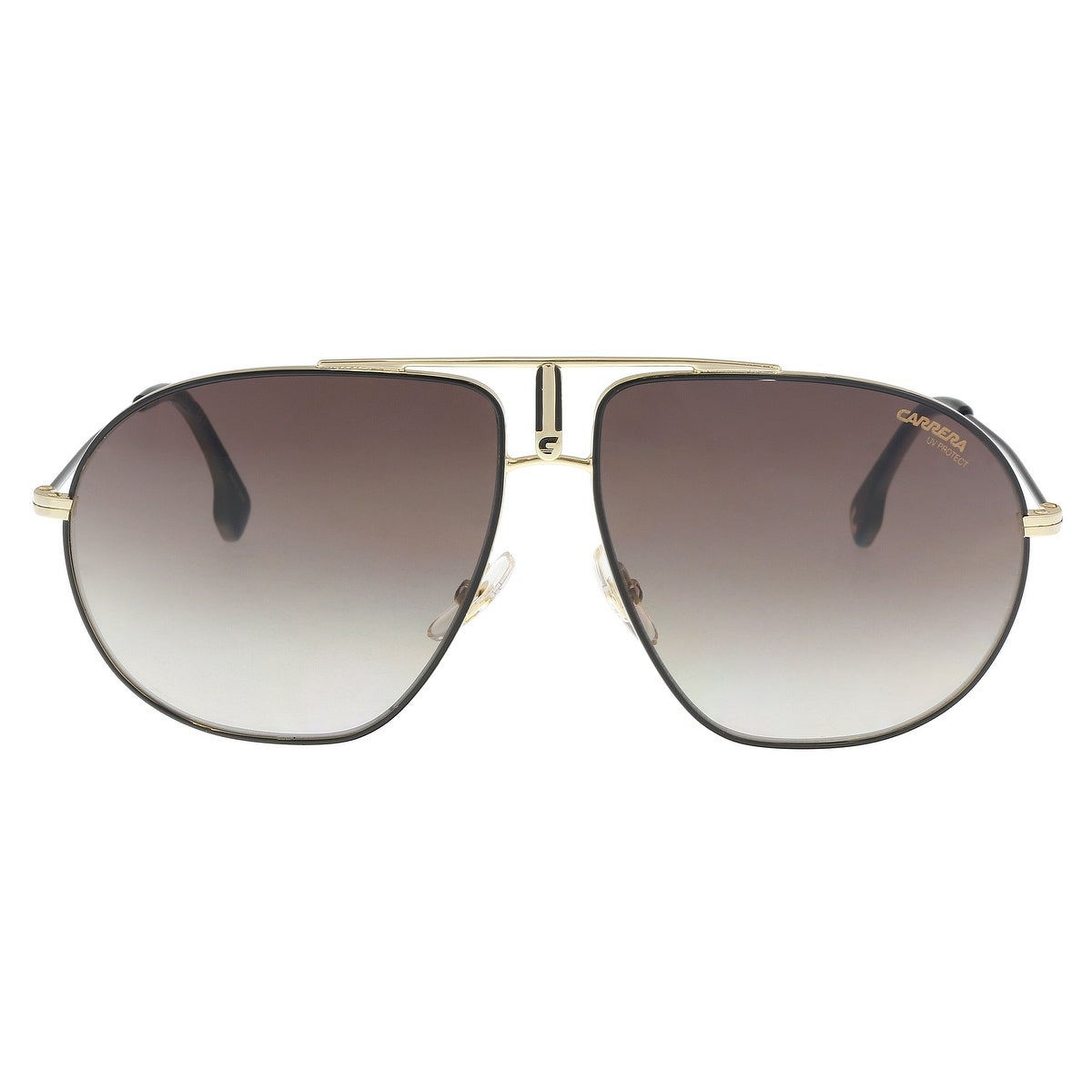 1fd07a8b675 Shop Carrera BOUND 02M2-HA Black Gold Aviator Sunglasses - 60-12-145 - Free  Shipping Today - Overstock - 21449703