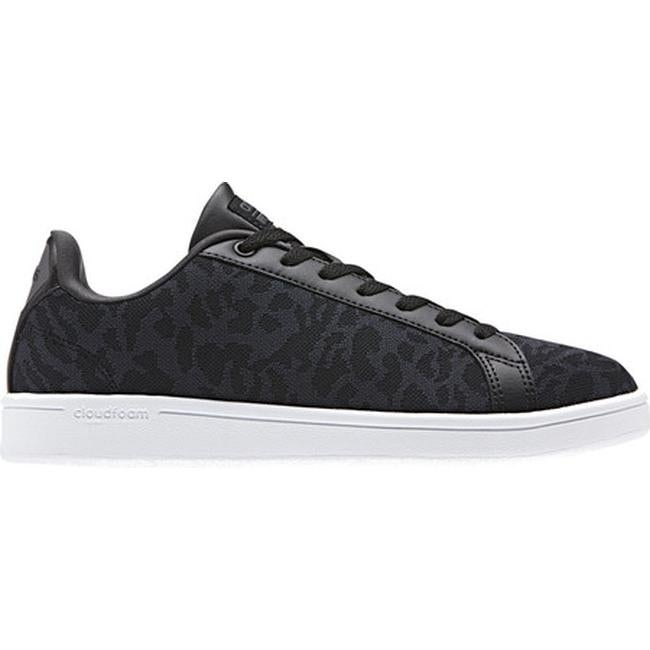 744cd65d0e8 Shop adidas Women s NEO Cloudfoam Advantage Clean Court Shoe Core  Black Core Black Utility Black F16 - Free Shipping Today - Overstock -  17042004