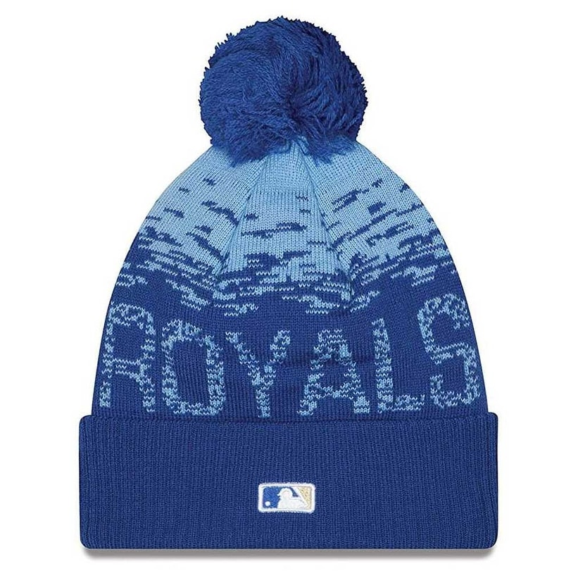 b3f746eeea3 Shop New Era Kansas City Royals MLB On Field Sports Knit Stocking Beanie  11212440 - Free Shipping On Orders Over  45 - Overstock - 19449521