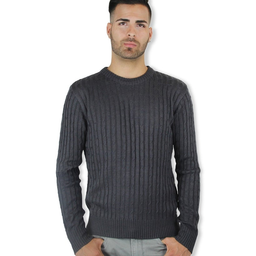 3b7e8a5cc901 Shop Men s Crew Neck Sweater (SW-333) - Free Shipping On Orders Over ...