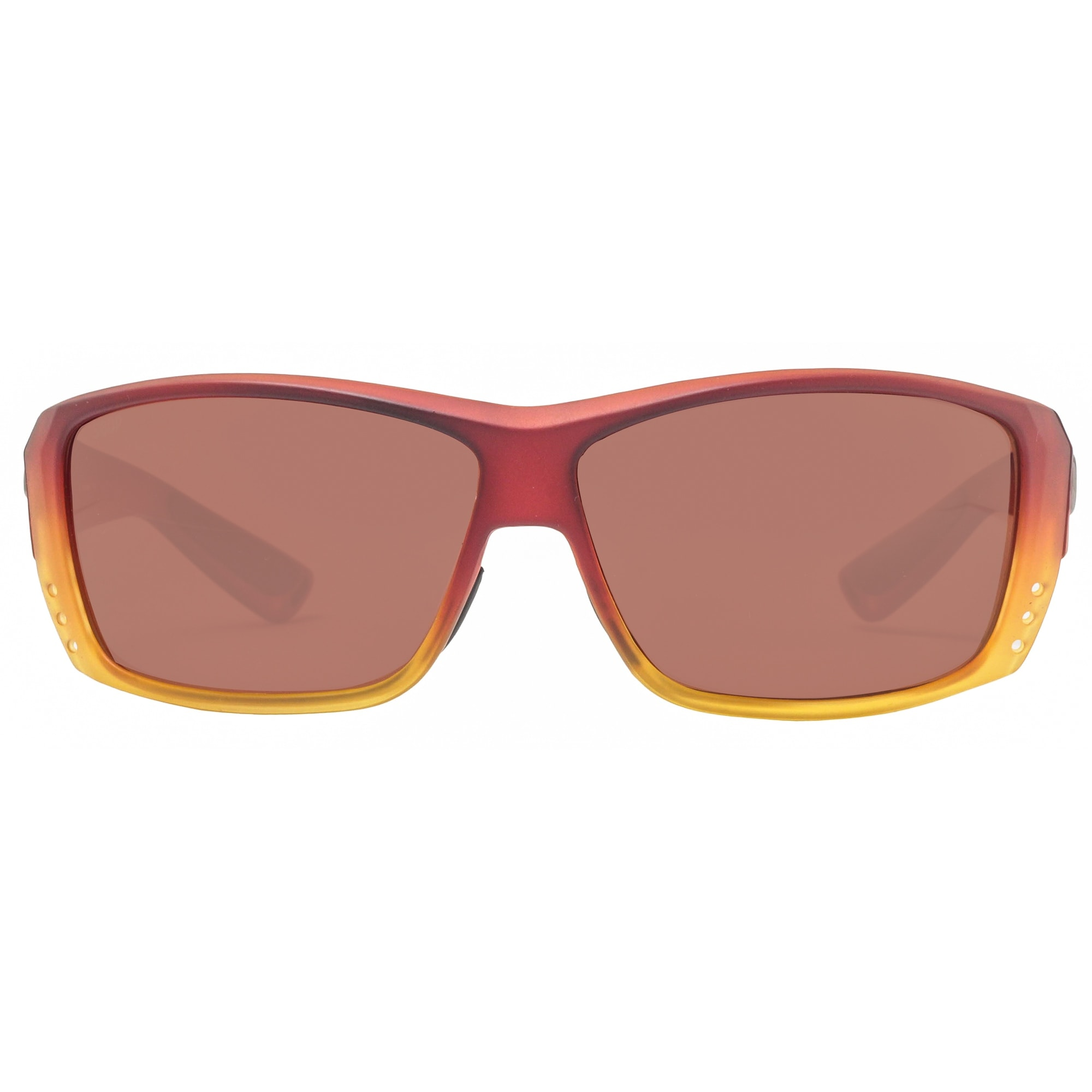 43a69f01425b Shop Costa Del Mar Cat Cay AT79OCP Matte Sunset Fade Copper Polarized 580P  Sunglasses - matte sunset fade - 61mm-12mm-128mm - Free Shipping Today ...