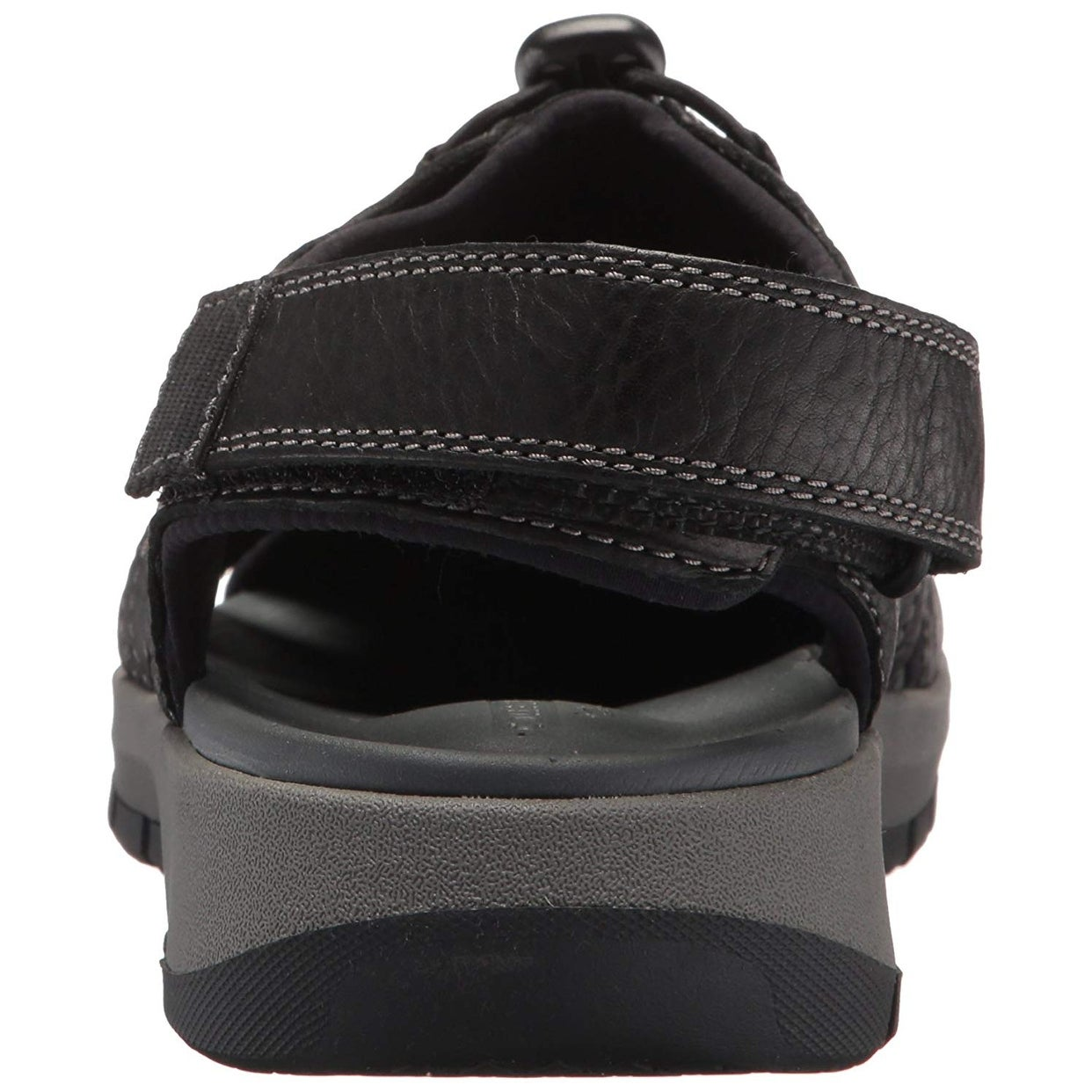 e28282a49900 Shop Clarks Mens Brixby Cove Leather Closed Toe Sport Sandals - Free  Shipping On Orders Over  45 - Overstock - 24116097