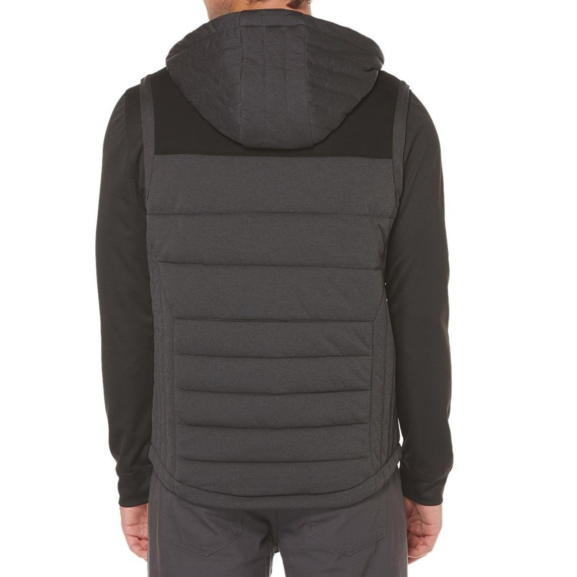 67abb9dcc4 Shop Perry Ellis NEW Black Heather Men Size 2XL Quilted Puffer Full ...